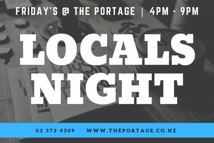 Locals night - Friday's